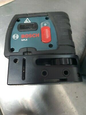 Bosch GPL5, 5 Point Self Leveling Alignment Laser