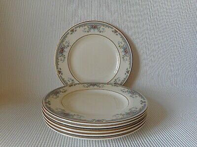 SIX  MINTON PERSIAN ROSE 165mm PLATES  - GOOD CONDITION SECOND QUALITY