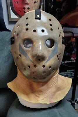 Friday the 13th Part 5 A New Beginning Hockey Mask and Jason Voorhees Hood Combo