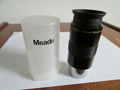 "Meade Eyepiece 40mm  Super Plossl 1.25"",suit Meade ETX ,Skywatcher,Celestron"