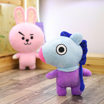 Kpop BTS BT21 Doll Pillow Cushion MANG TATA CHIMMY KOYA Plush Standing Dolls Toy