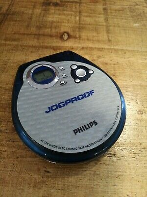 Philips Jogproof Portable Cd Player Discman Ax 3205. Tested And Working!