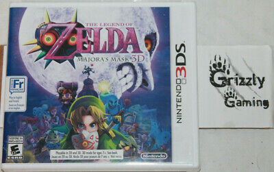 NEW The Legend of Zelda: Majora's Mask 3D Nintendo 3DS Canadian Seller!!!