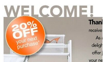 The Container Store 1coupon 20% entire (include elfa items)
