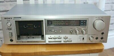 Sony TC-K71 3 head cassette deck, classic silver S+F head, 2 of 2.  Serviced