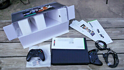PARTS REPAIR AS-IS Microsoft Xbox One X 1TB Console w/ Packaging, NBA 2K19, More