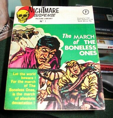 Nightmare Suspense Picture Library  Issue Number 1  1966