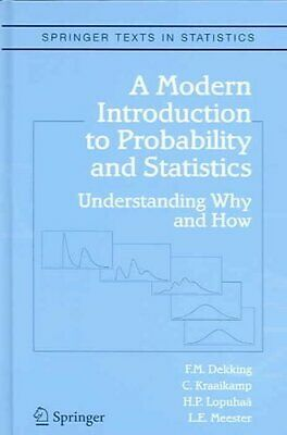 A Modern Introduction to Probability and Statistics Understandi... 9781852338961