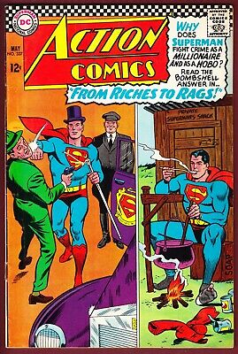 """Dc_Action Comics # 337_Fn+_(1966)_""""From Riches To Rags!"""""""
