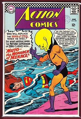 """Dc_Action Comics # 338_Fn/Vfn_(1966)_""""Muto The Monarch Of Menace!"""""""