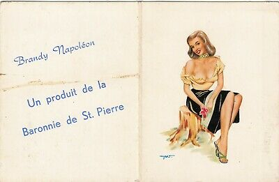 Original Poche Calendar 1965 Pin Up Girl