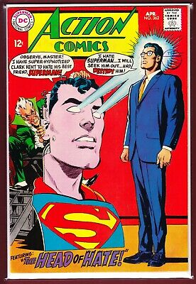 """Dc_Action Comics # 362_Vfn-_(1968)_""""The Head Of Hate!""""."""