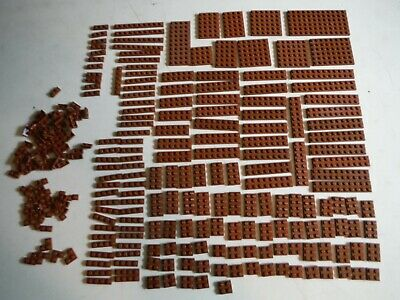 ☀️NEW LEGO 1x Open STAIRCASE 7x4x6 REDDISH BROWN Stairs Ladder