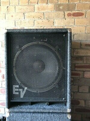 "EV 15"" Bass Speakers ( x2)"