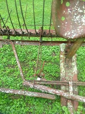 antique hay rake intact and in great condition