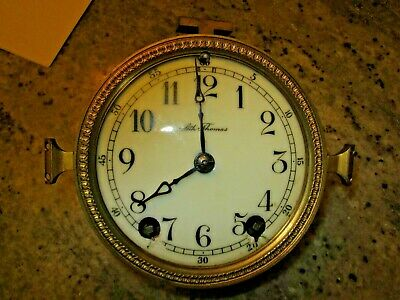 antique Seth Thomas movement, dial, coil gong for crystal regulator