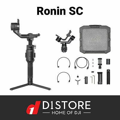 DJI RONIN SC 3 Axis Gimbal stabilizer For Mirrorless Camera Australian Stock