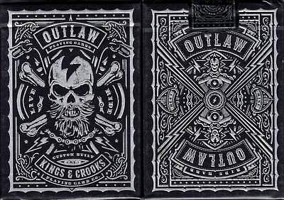 Outlaw Playing Cards - USPCC - Kings & Crooks