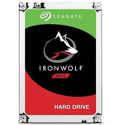 "Seagate NAS HDD 8TB SATA 3.5"" IronWolf 7200RPM 256MB Internal Hard Disk Drive"
