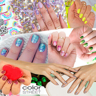❤️ Buy 3 Get 1 FREE ❤️ Color Street Nail Polish Strips !LOW PRICE! Made in USA!!