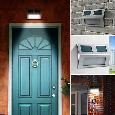 Solar Powered PIR Motion Sensor Light Outdoor Garden Security Wall Lights 40 LED