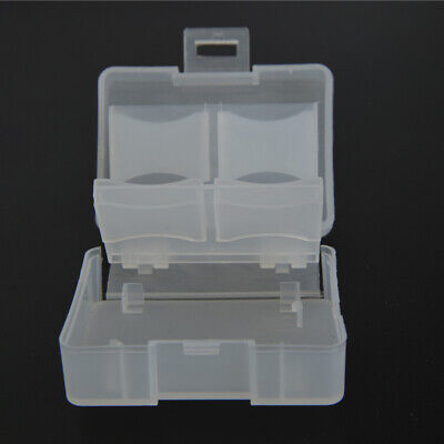 Memory Card Case Storage Box Compact Travel Portable Transparent Compact New