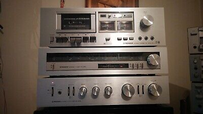 PIONEER SA-408 amplifier TX-408 tuner CT-506 tape deck combo
