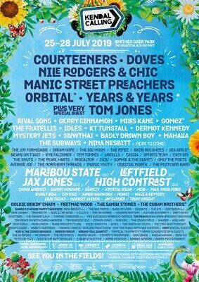 Kendal calling 2019 Tickets and classic Bell Tent