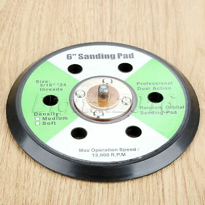 Sponge Metal Grinder Polishing Sanding Wheel Disc Abrasive Sander Backing Pad 6""