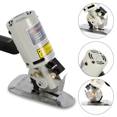 NEWLY 90MM Rotary Blade Electric Fabric Cutter Round Knife Cloth Cutting Machine