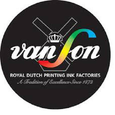 Letterpress Ink - Rubber Based Ink - Vanson Ink  - 14 x 150gsm