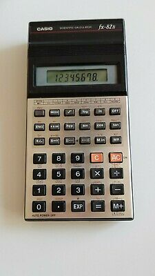 Vintage Casio FX 82B Calculator Made in Japan  Works Great!