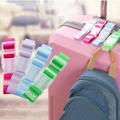 Travel Anti Lost Suitcase Luggage Straps Clip Protect Belt Easy Buckle Strap 1Pc