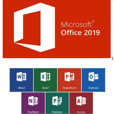 Microsoft Office 2019 Professional Plus 1 PC Produkt Key 32/64 Bit ESD Download