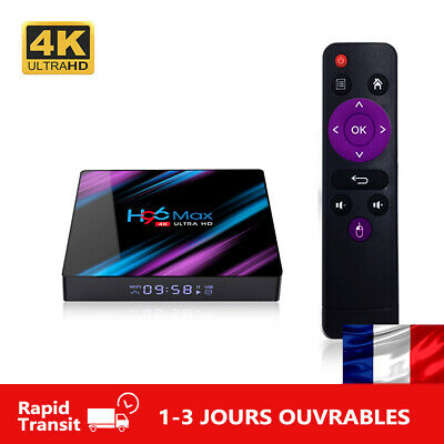 H96 MAX Android 9.0 RK3318 Quad Core 2.4G/5G Wifi BT Media Player TV Box H96MAX
