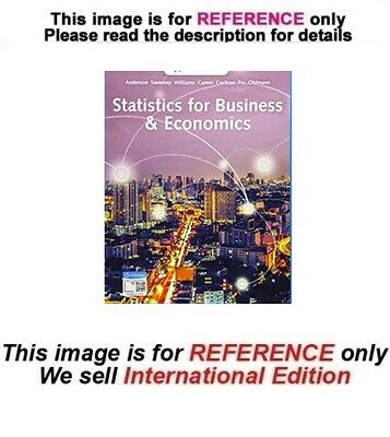 Statistics for Business & Economics, 14th edition (ISE, Two Books Set)