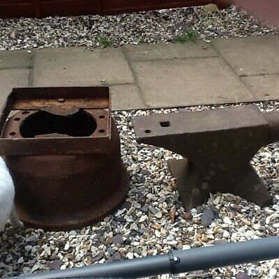 blacksmith anvil and stand vgc stand is made from Hgv hub , excellent ring .