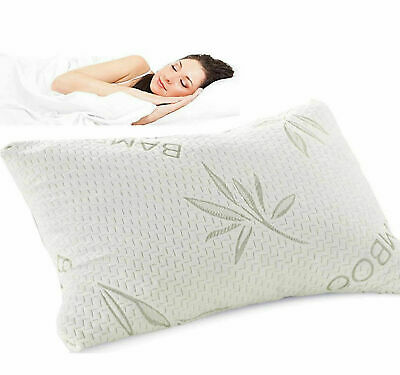 Bamboo Memory Foam Pillow Microfiber Pillows Soft Bounce Luxury Hotel Quality