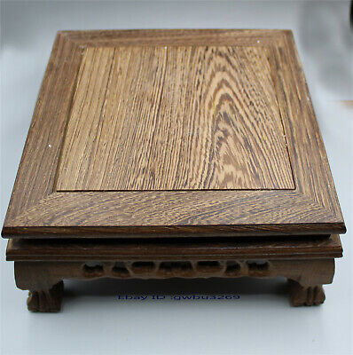 Collectio Exquisite Chinese wood Station handwork Carved wood small Table