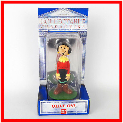 Olive Oyl Figure from Popeye Collectable Character Sweet Patootie by Bandai 1990
