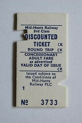 RAILWAY TICKET GWR  Market  Whitchurch Hants - Winchester