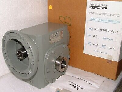Sterling electric worm speed gear reducer 2262HQ030 , 2000RA series
