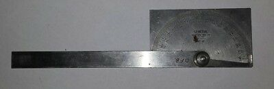 VINTAGE GENERAL HARDWARE MFG. CO. No.17 Stainless Steel Protractor
