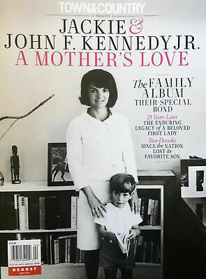 Jackie & John F. Kennedy Jr. A Mother's Love 2019 Town & Country Magazine