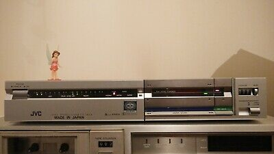 JVC D-E3 tape deck with ANRS front loading very rare