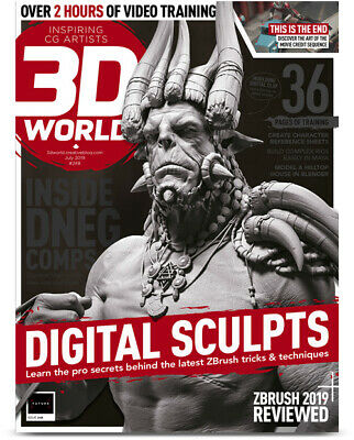 3D World Magazine Issue 248 July 2019 Inspiring CG Artists