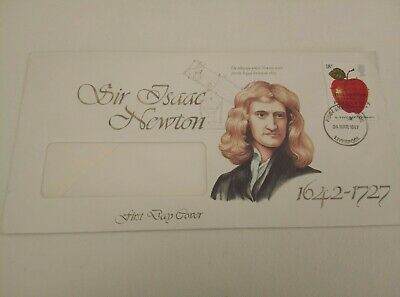 GB FDC 1986 - 1998 First Day Covers Commemorative Air Issac Newton 1987