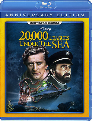 20,000 Leagues Under The Sea DMC Exclusive Blu-ray