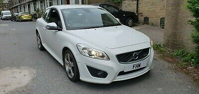 2010 59 Facelift Volvo C30 1.6 R Design - Low Miles, Leather, Climate, White