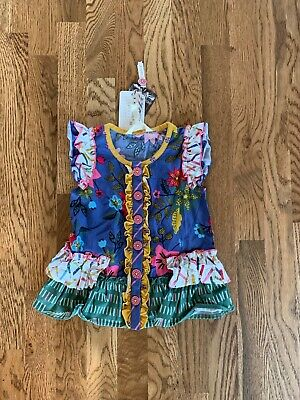 NWT Matilda Jane Color Time Tunic 18-24 Months Back to School